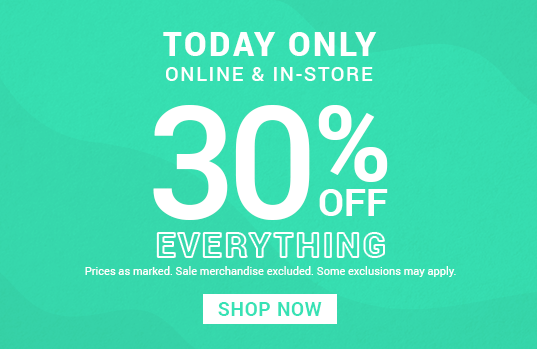 Up to 50% OFF sitewide | SHOP NOW