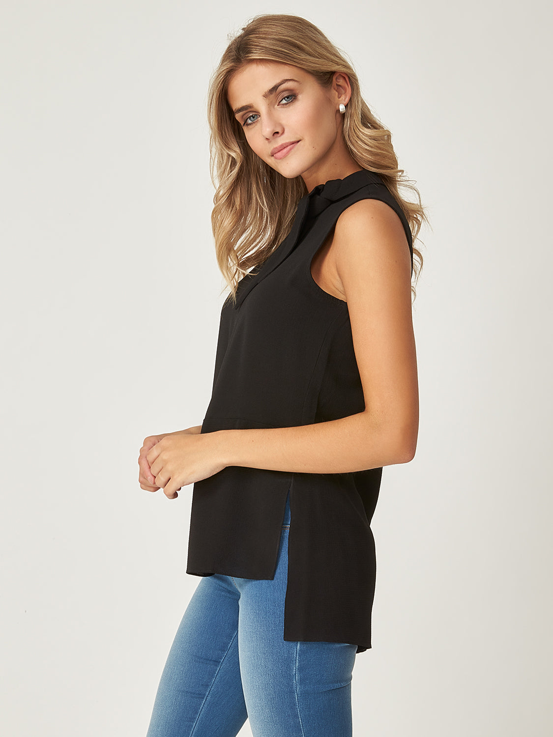 Long High-Low Blouse