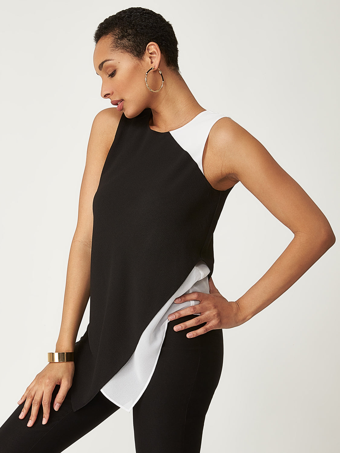 Two-Layer Asymmetrical Top