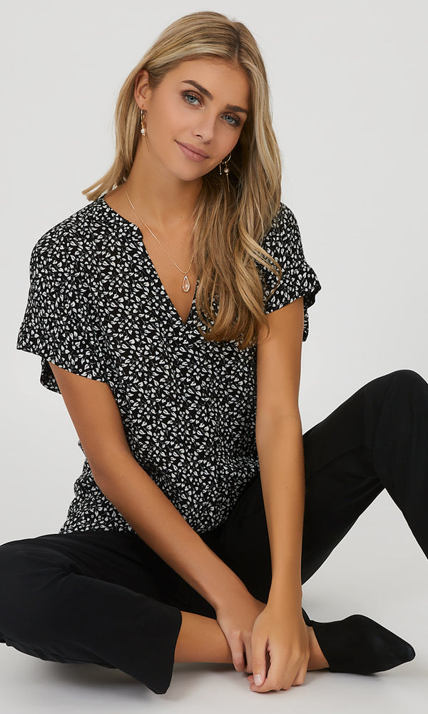 Short Dolman Sleeve Top