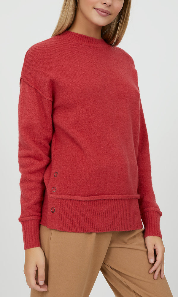 Boxy Crew Neck Sweater