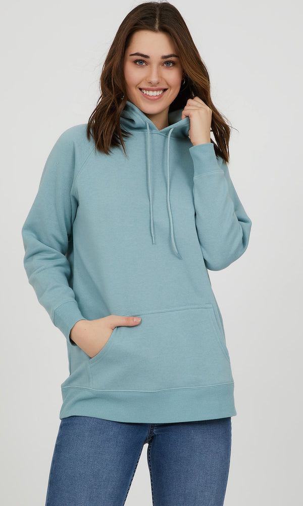 Kangaroo Pocket Fleece Hoodie Sweatshirt