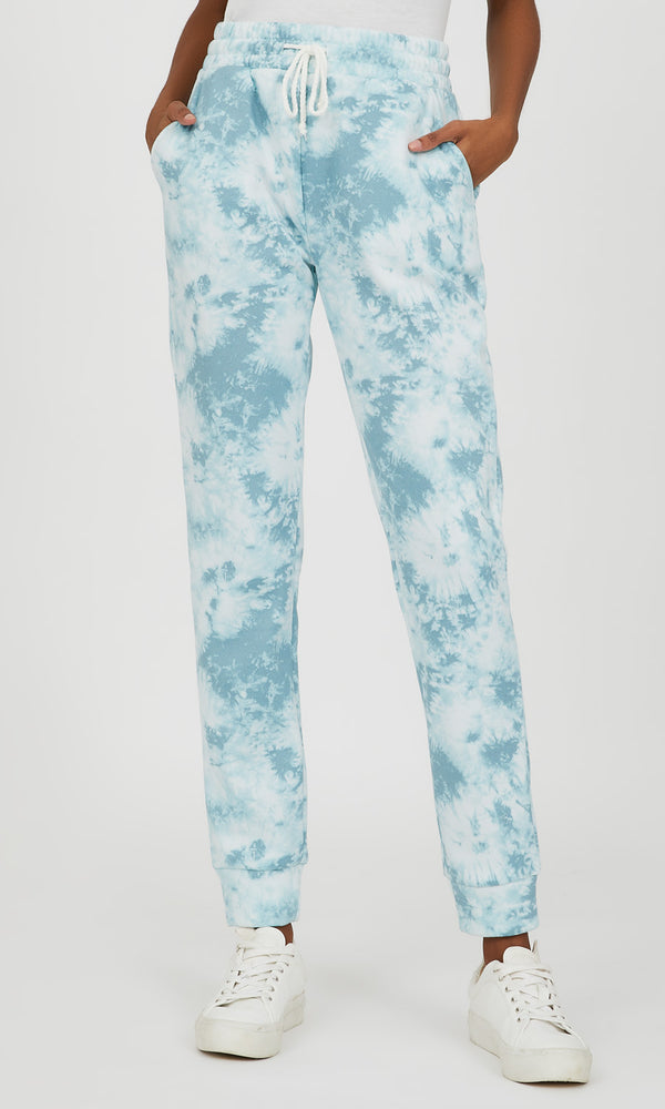 Fleece Tie-Dye Jogger Sweatpant