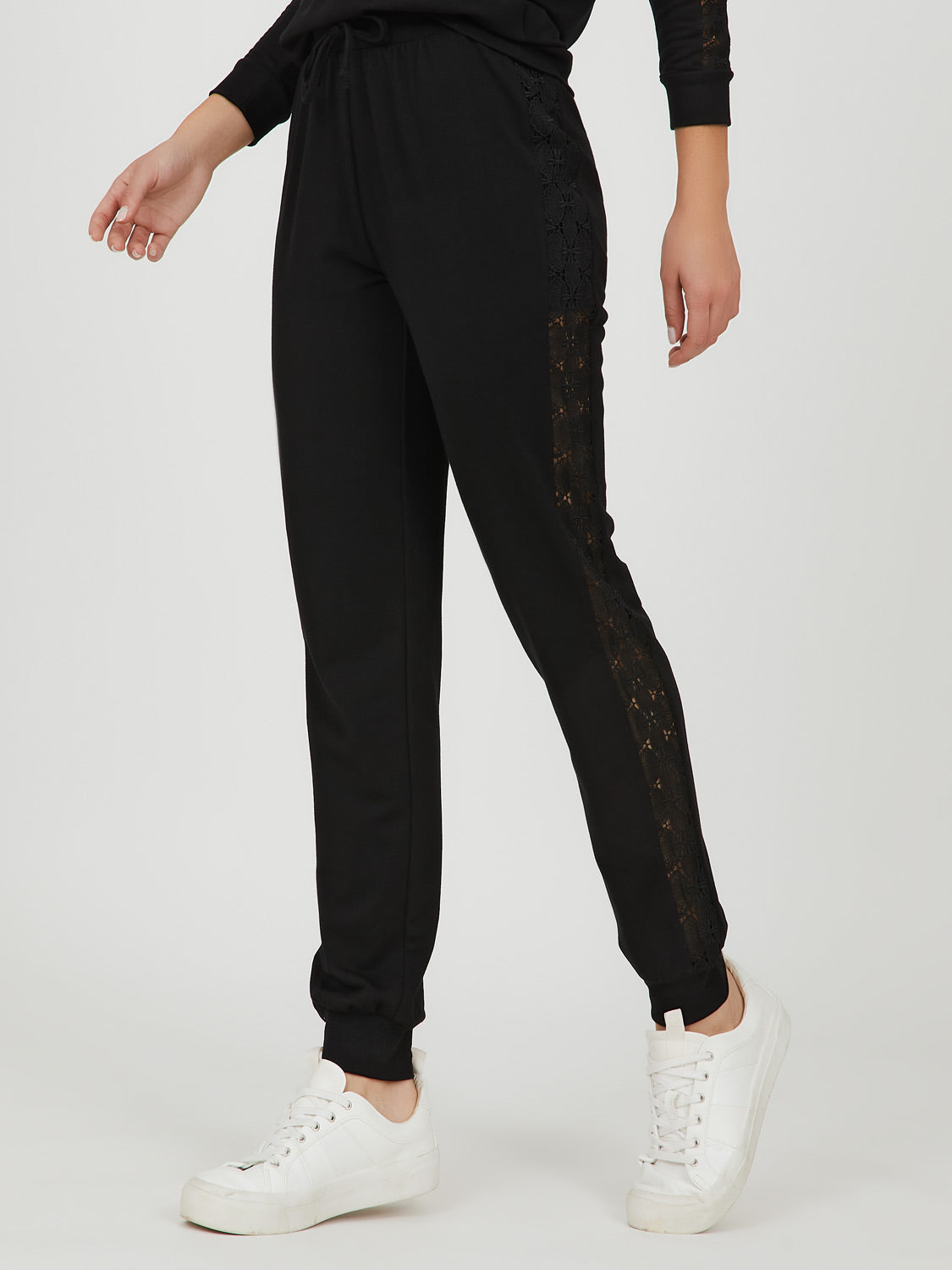 Crochet Side Jogger Sweatpant