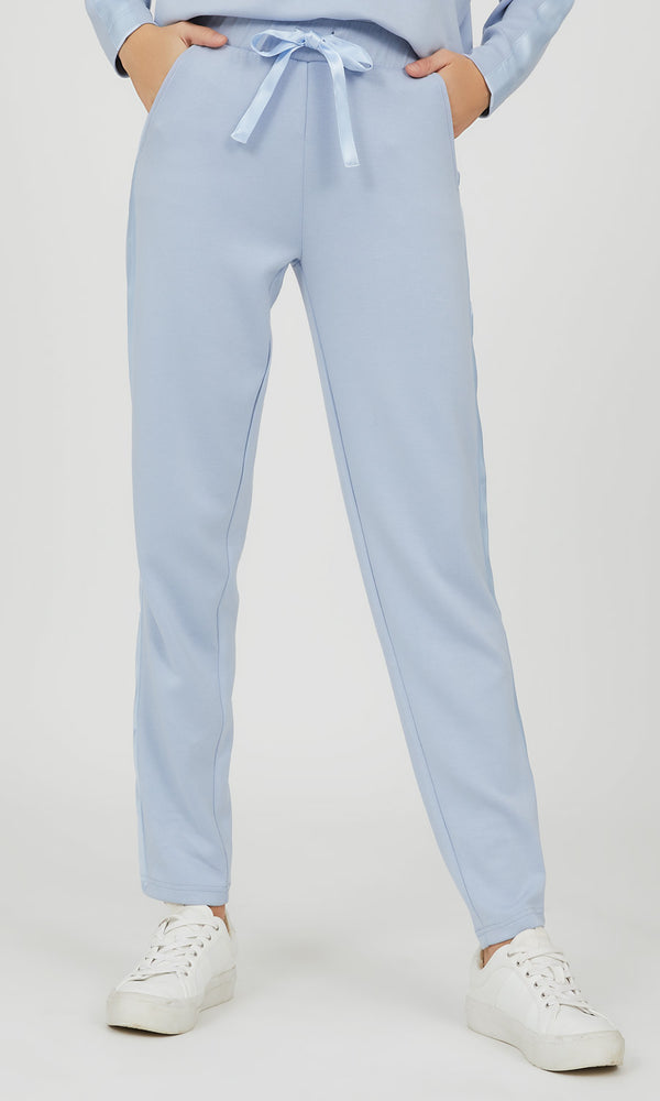 Sweatpant with Satin Sides