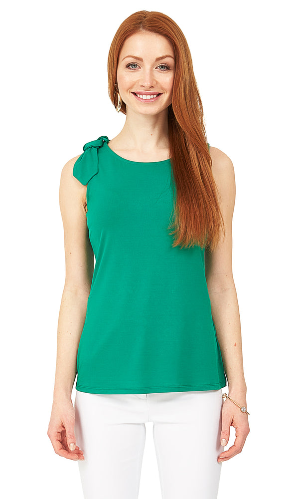 Sleeveless Bow Top