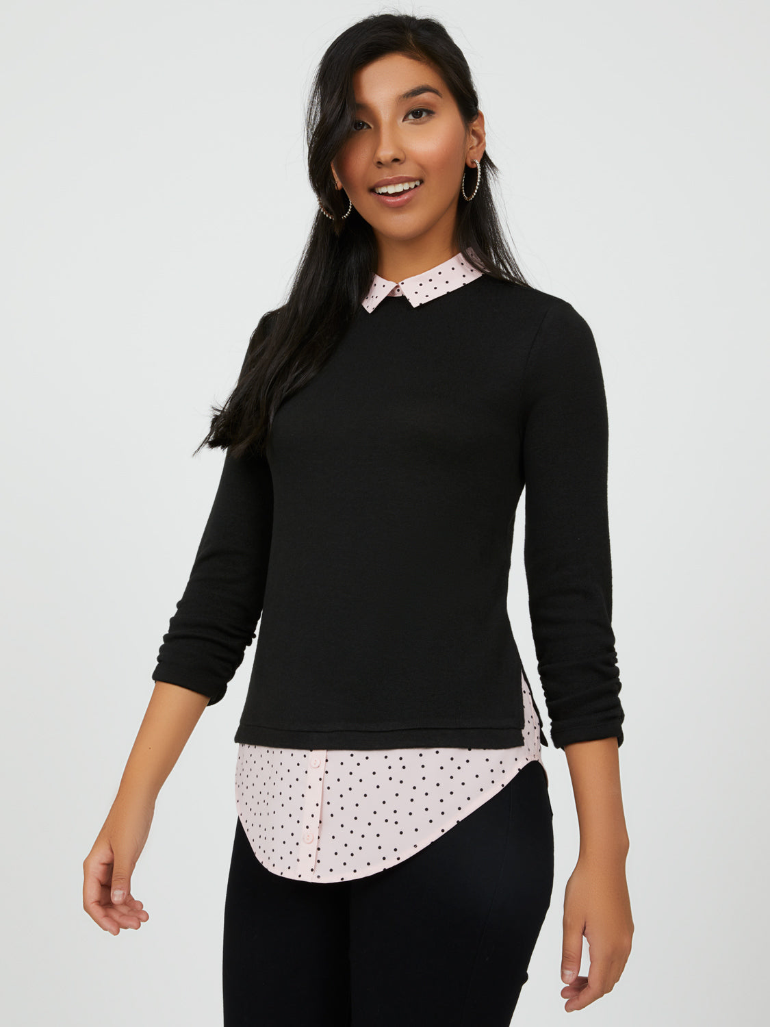 Polka Dot-2-fer-Top