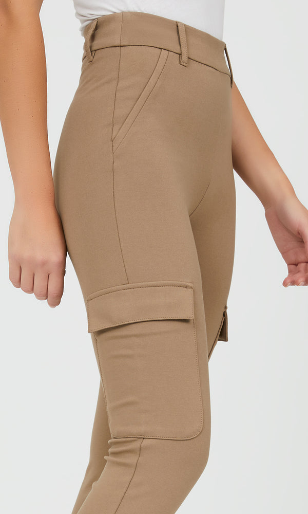 Pull-On Cargo Pants