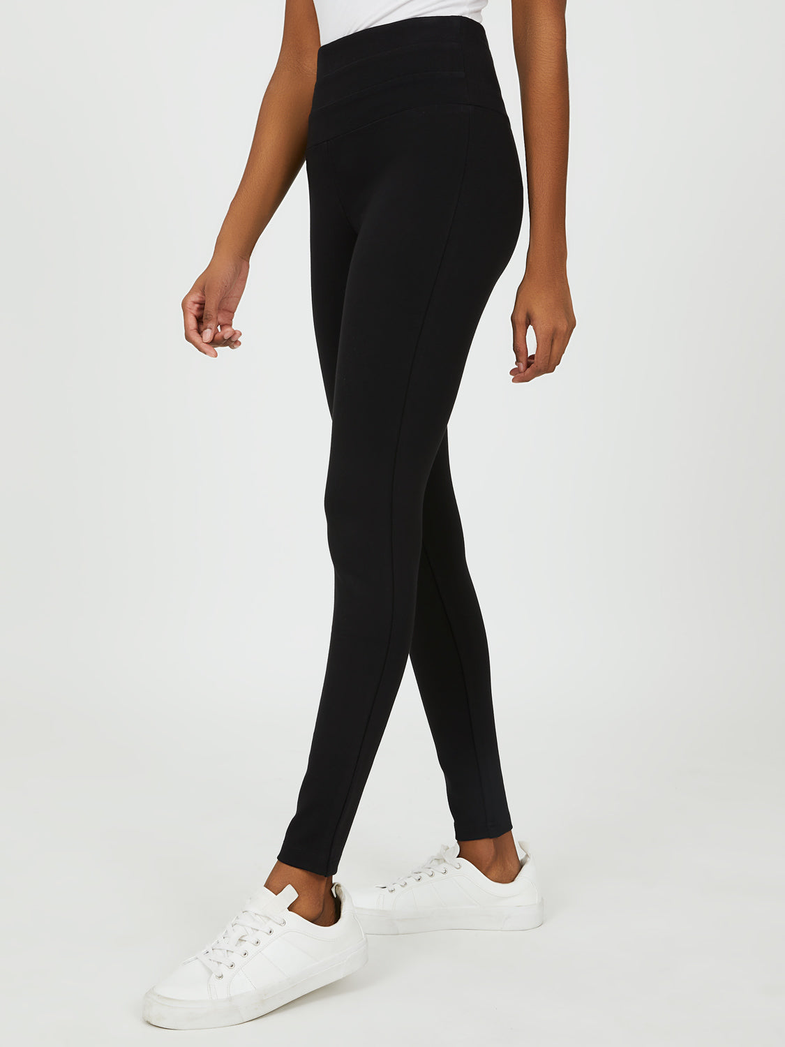 Wide Waistband Pull-On Pant