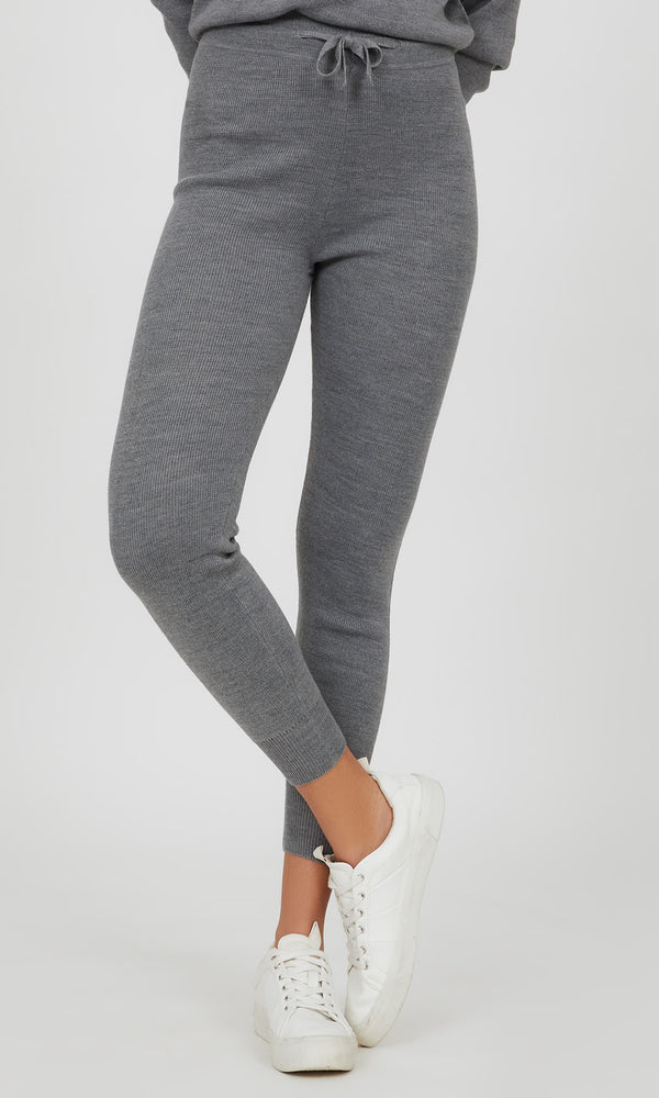 Sweater Knit Jogger Pant