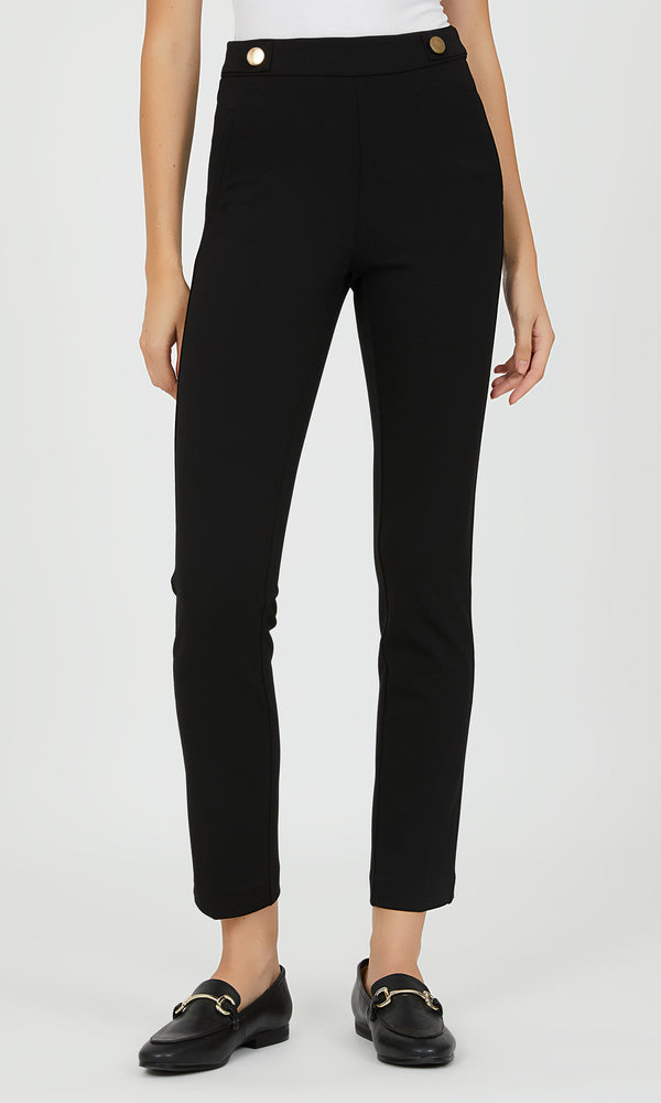 Pull-On Crepe Pants