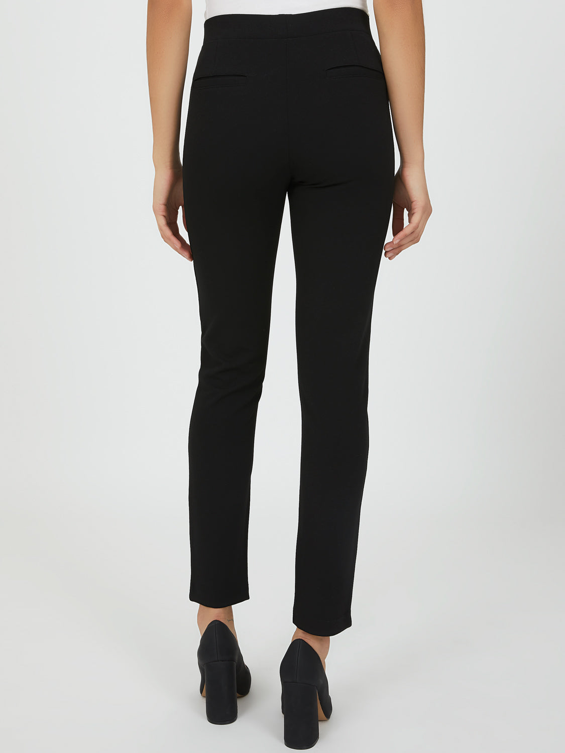 Crepe Slim-Fit Pant
