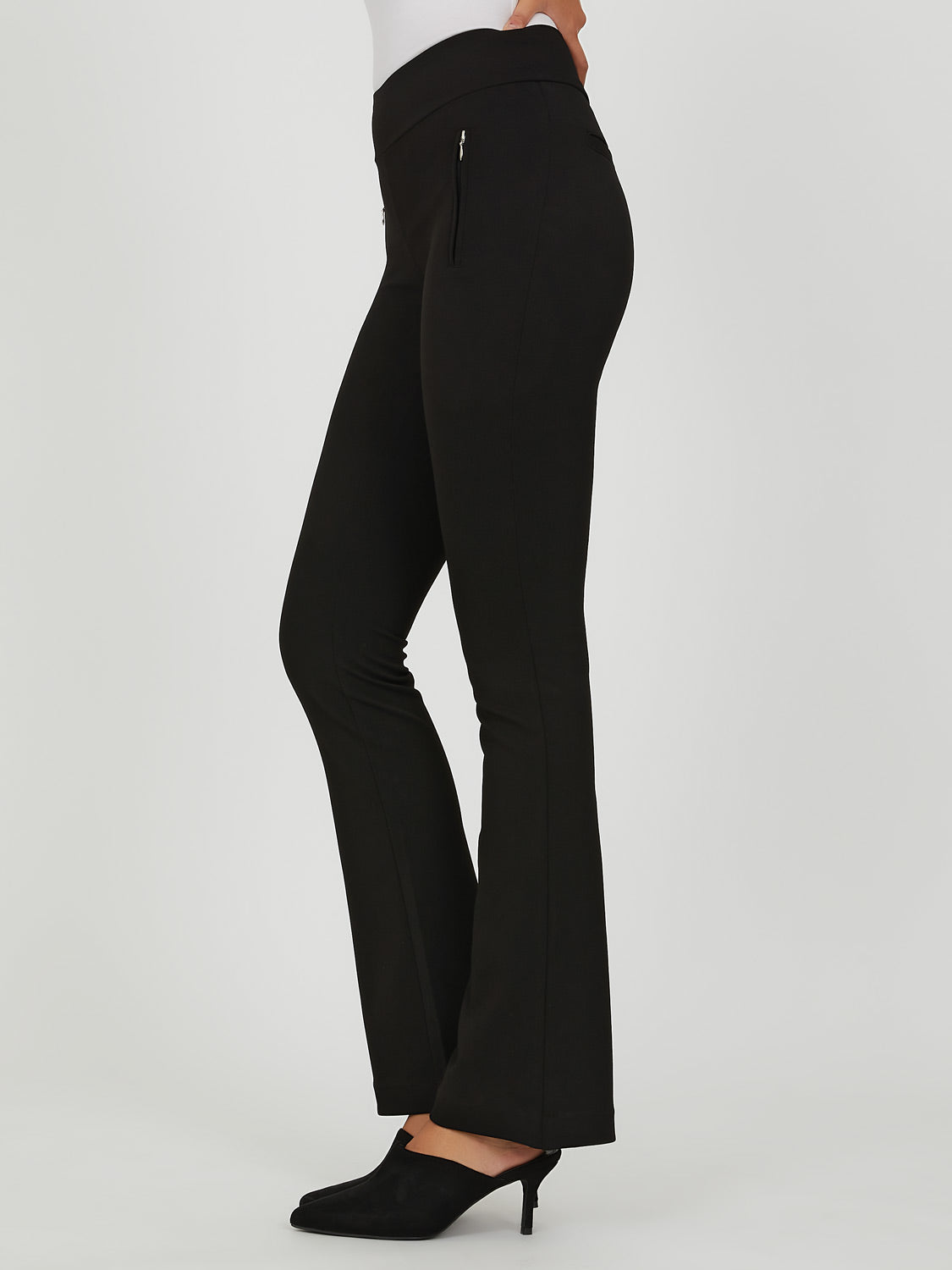 Crepe Knit Flare Pant