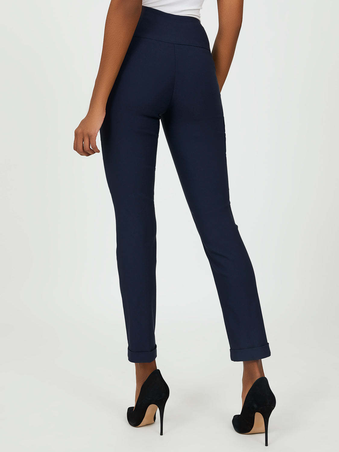 Slim-Fit Ankle Length Pant
