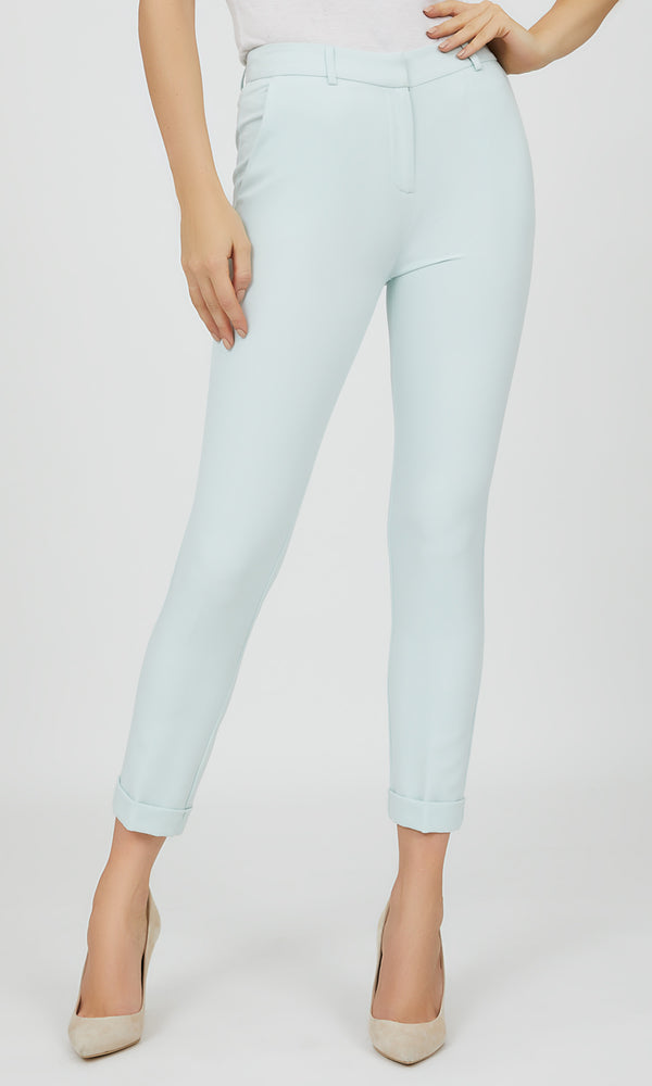 Cuffed Ankle Length Pant