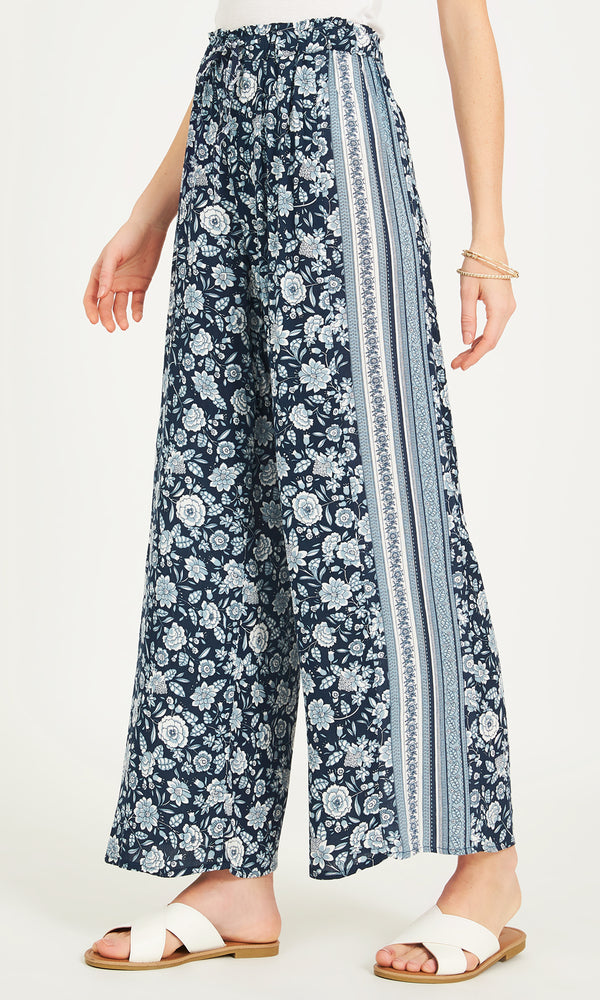 Printed Ankle Length Palazzo Pants
