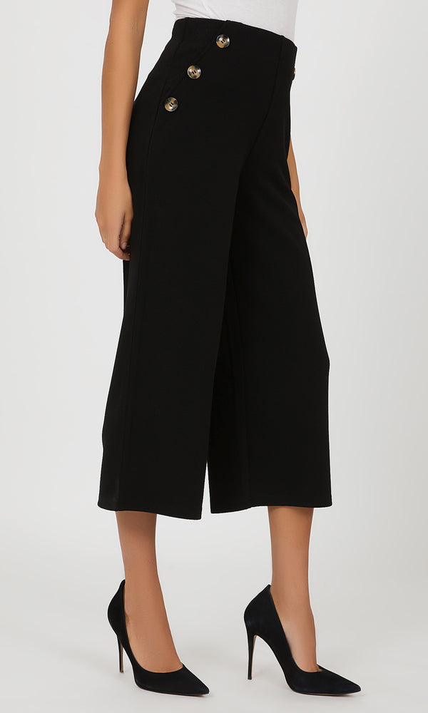 High Waist Gaucho Pant