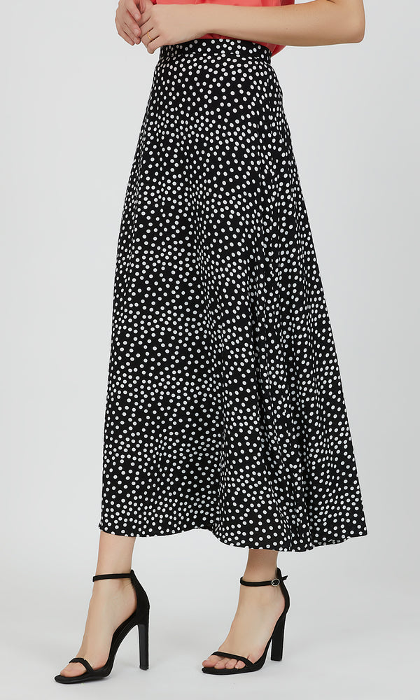 Scatter Dot Maxi Skirt