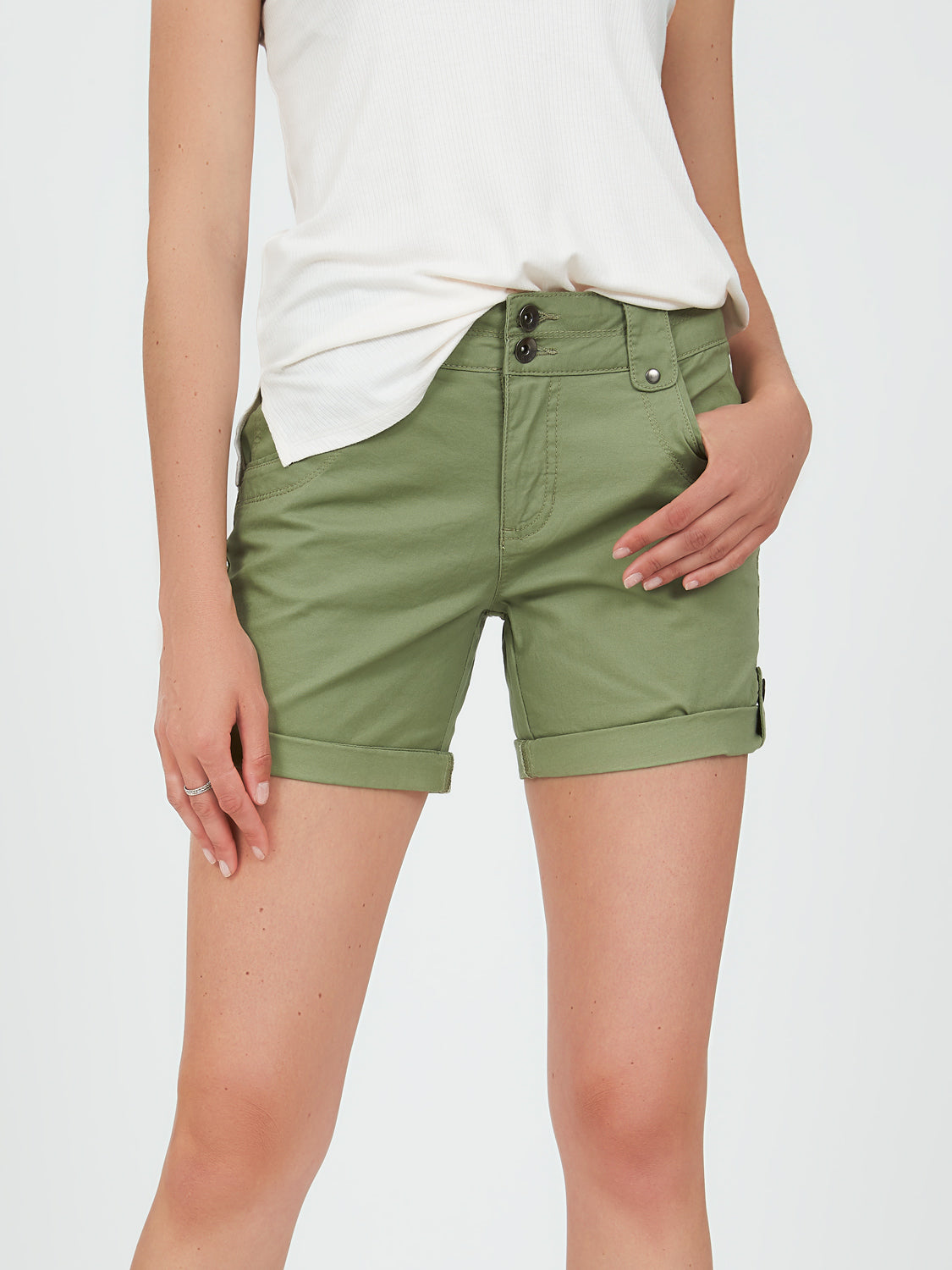Rolled-Up Shorts