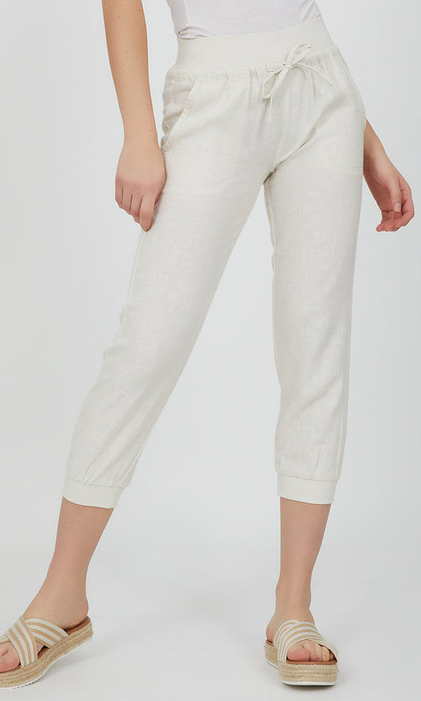 Pull-On Capri Loungewear Pant