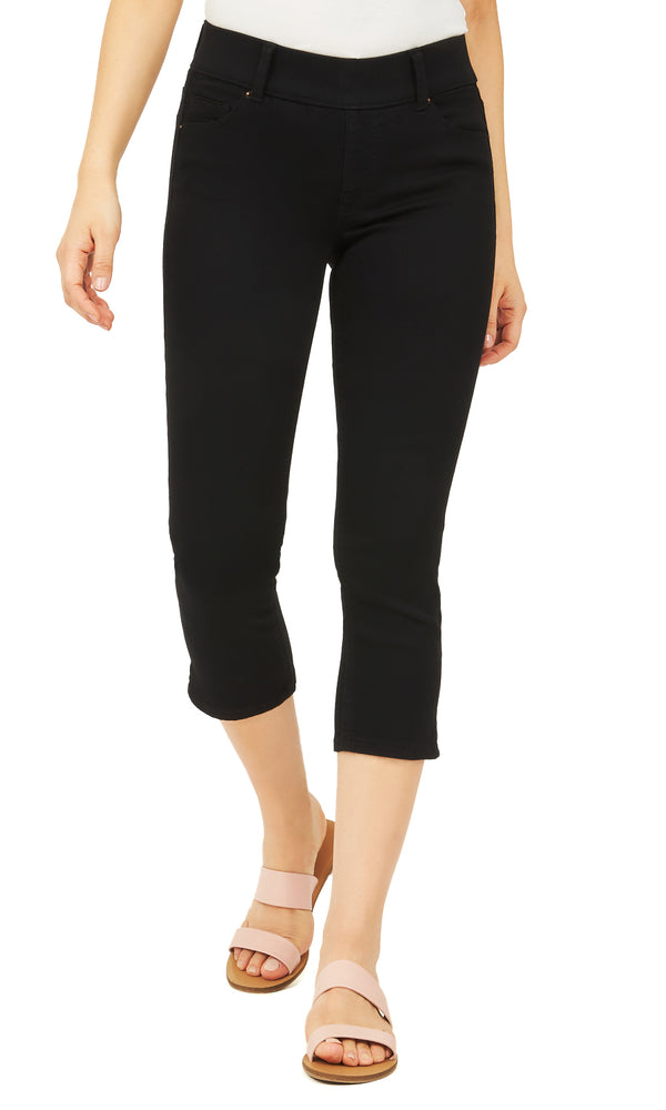 Stretch Twill Capri Pants