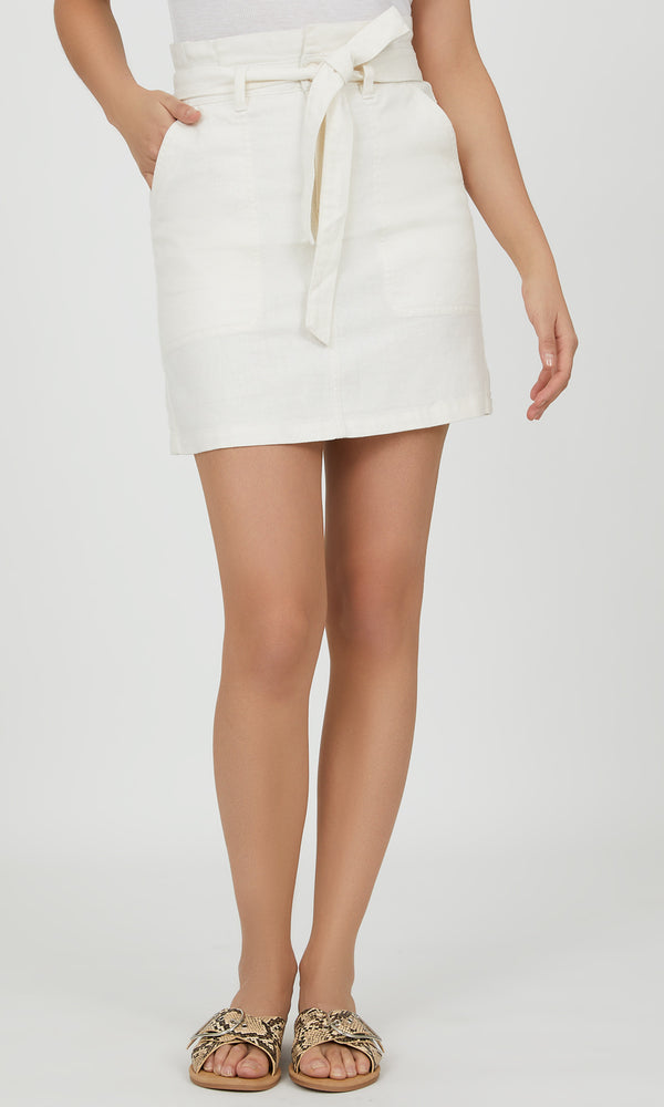 Paper Bag Mini Skirt