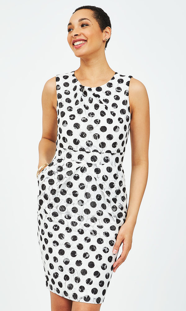 Polka Dot Envelope Dress