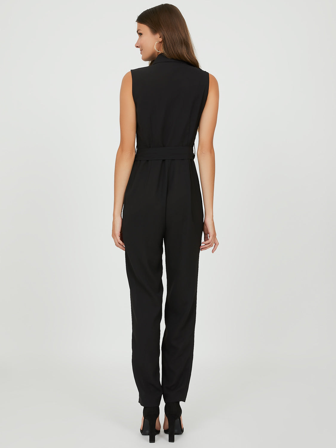 Sleeveless Modern Utility Jumpsuit