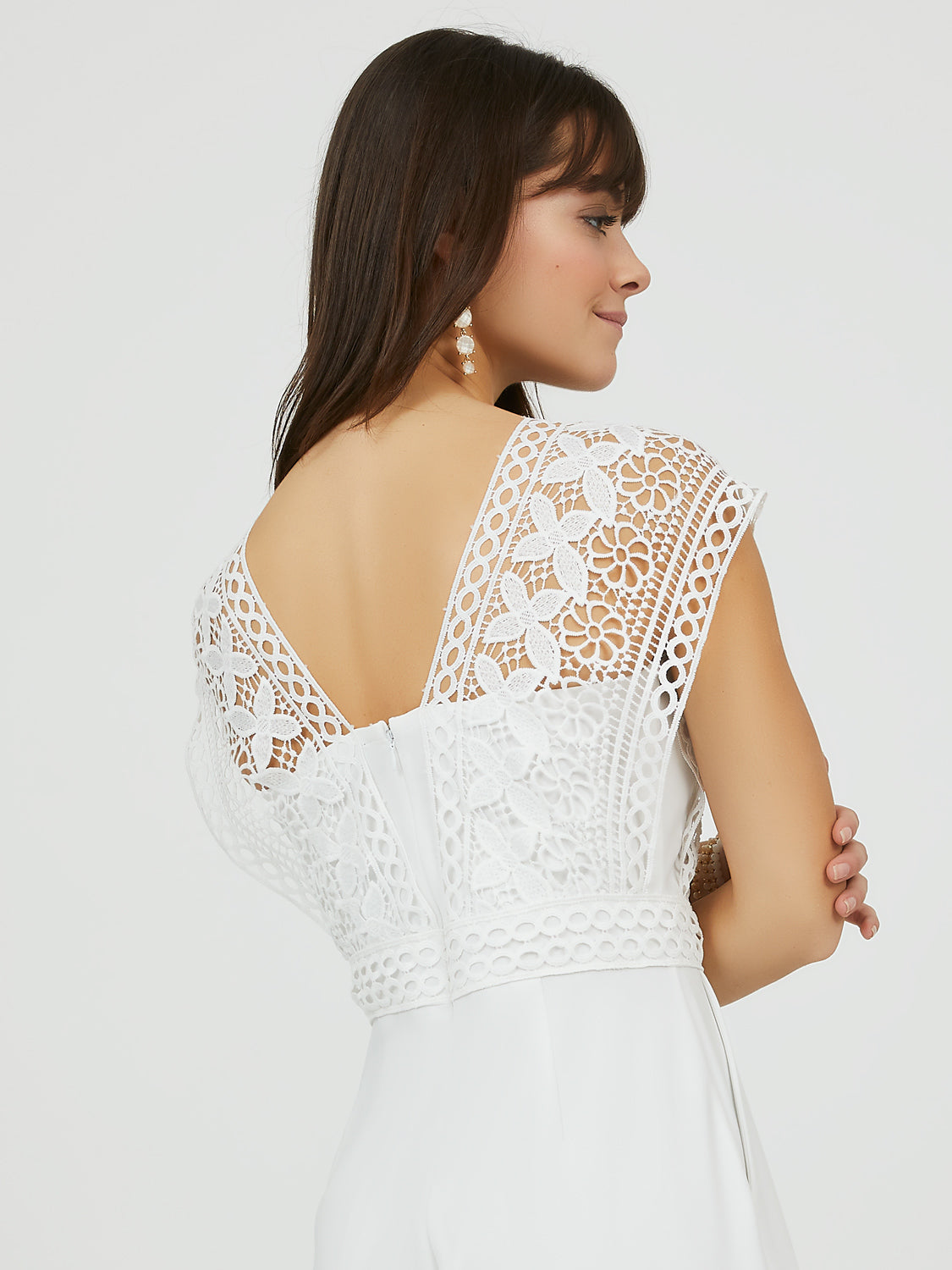 Crochet Lace Jumpsuit