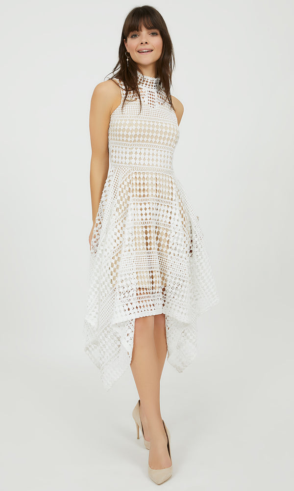 Crochet Lace Handkerchief Dress