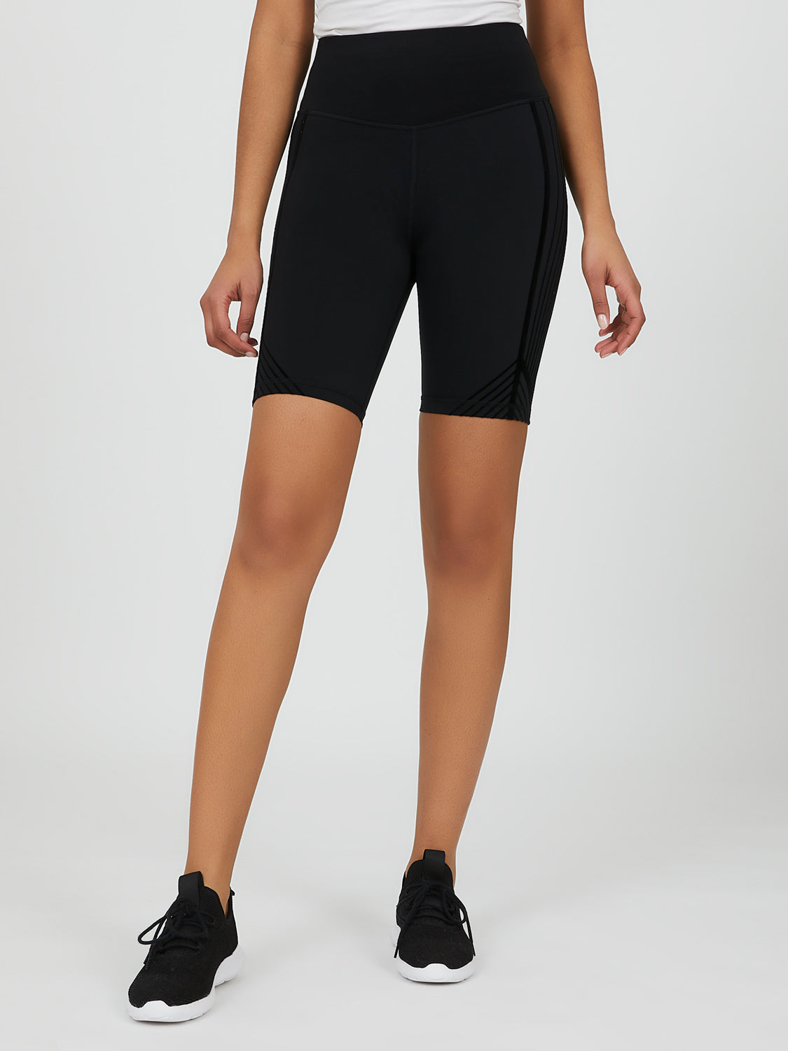Fitted Flocked Cycling Short