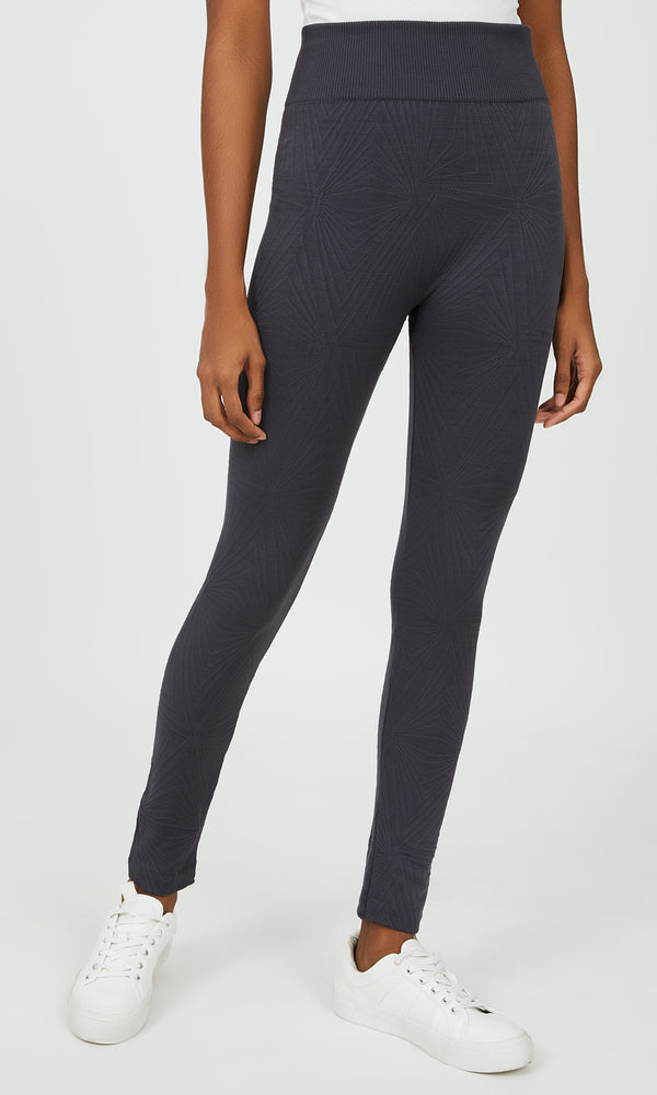 Cable Knit Fleece Lined Leggings