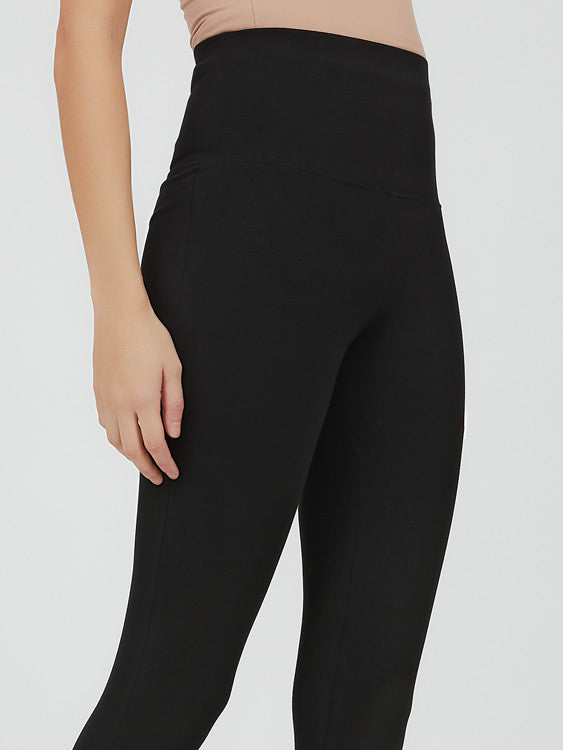Wide Waist Knit Legging