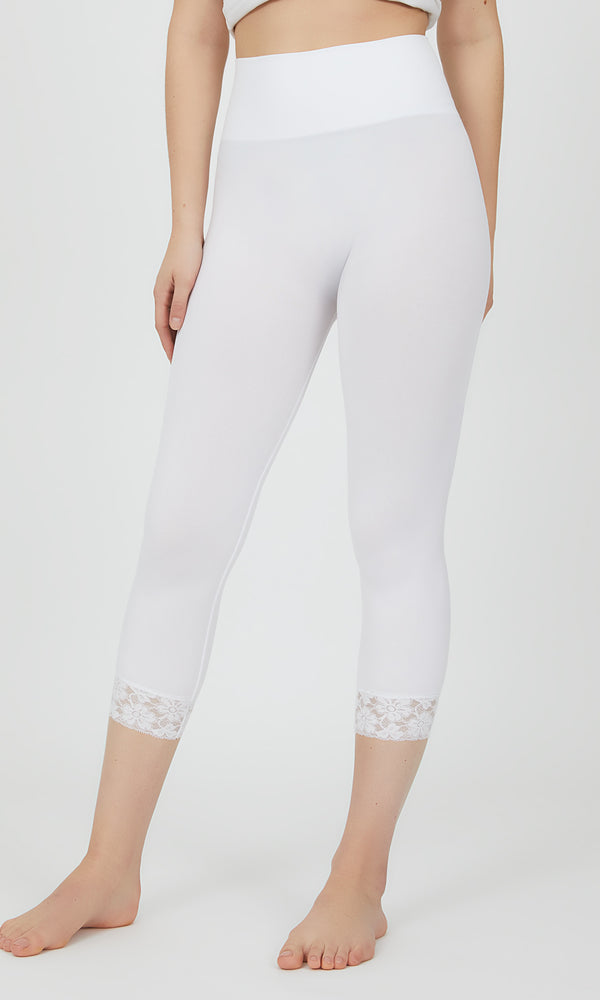 Seamless Knit Capri leggings
