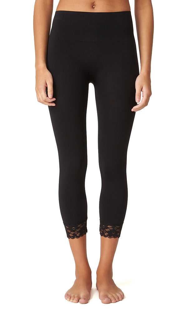 Seamless Knit Capri Legging