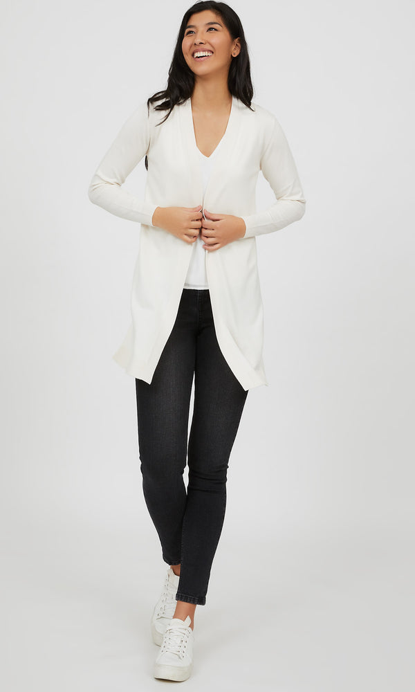 Open Front Knit Duster