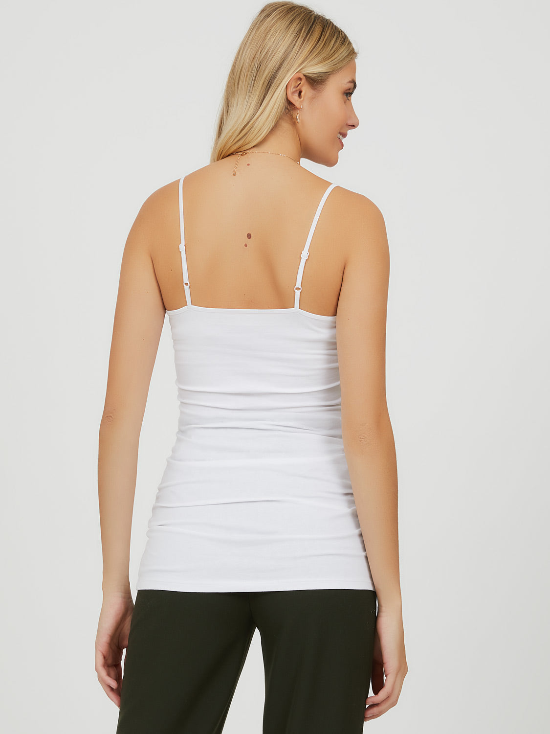 Adjustable Strap Spandex Camisole