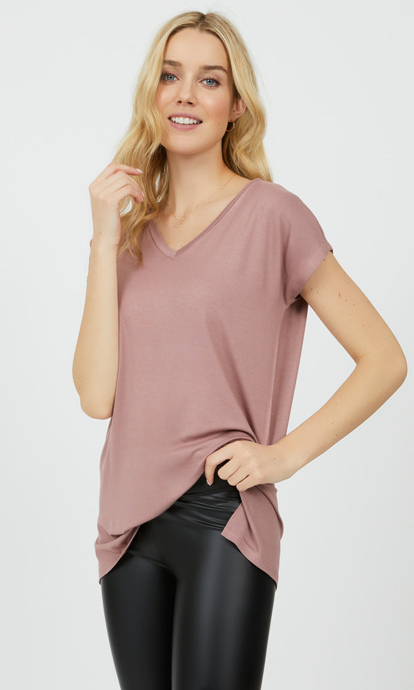 Short Dolman Sleeve Oversized Tee