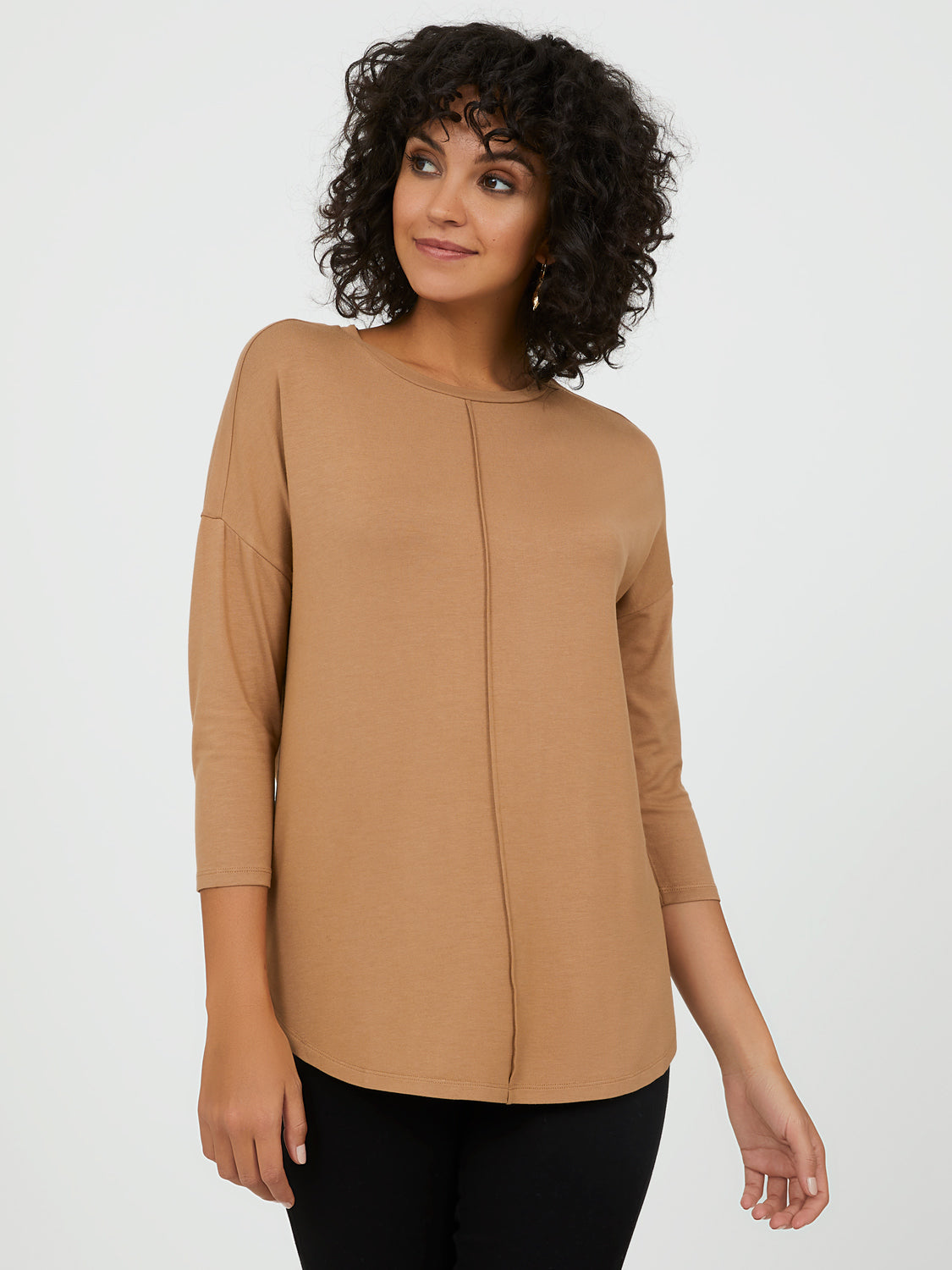 ¾ Sleeve Tunic Tee