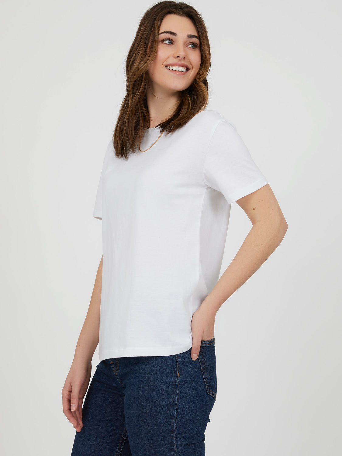 Short Sleeve Crew Neck T-Shirt