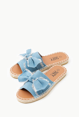 Knotted Espadrille Flats
