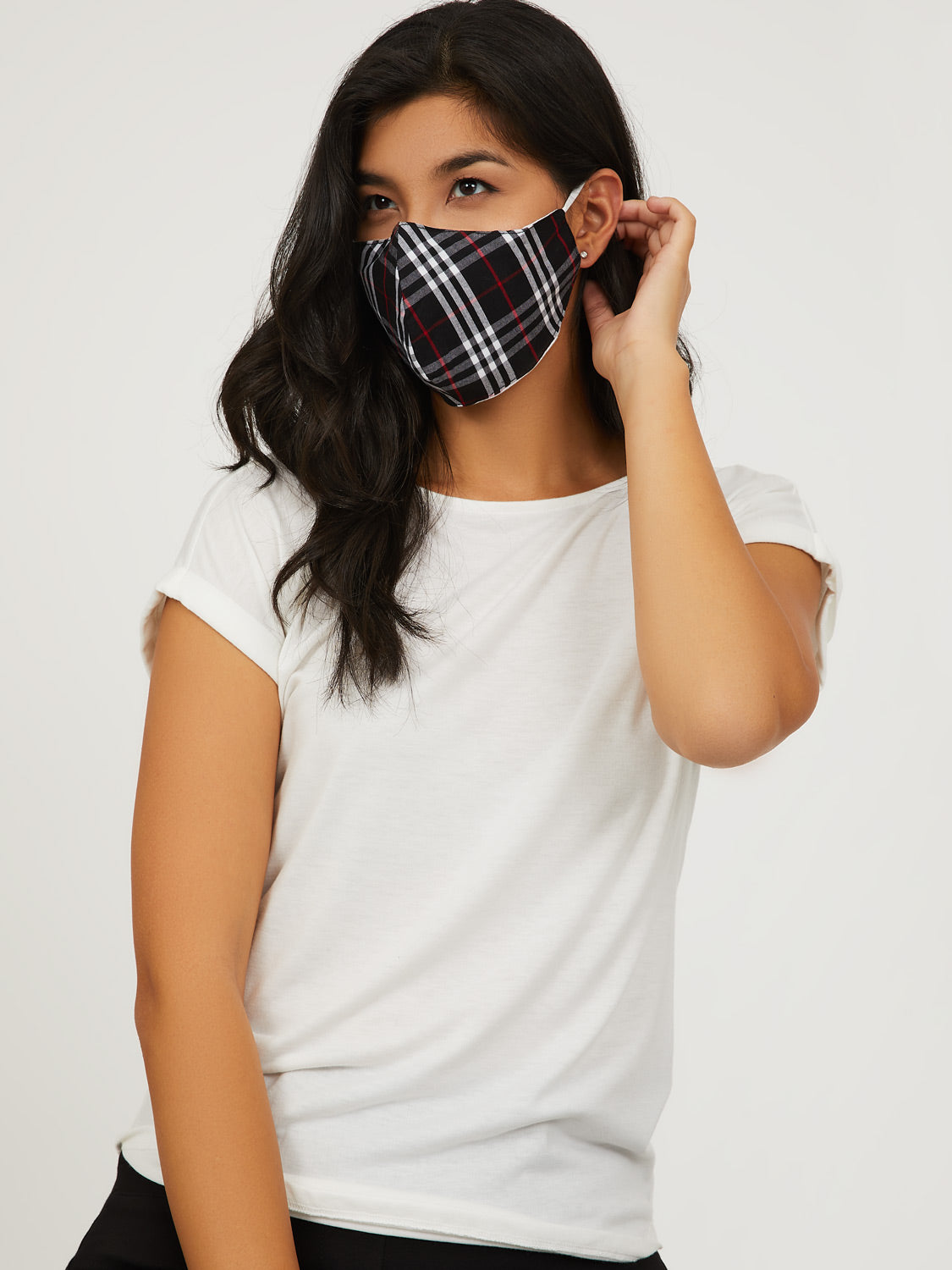 Reusable Cloth Face Masks With Filter Pocket (Pack of 2)