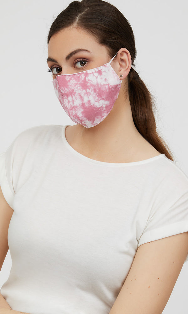 Reusable Cloth Tie-Dye Face Masks (Pack of 2)