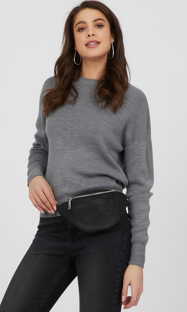 Soft Faux Leather Fanny Pack