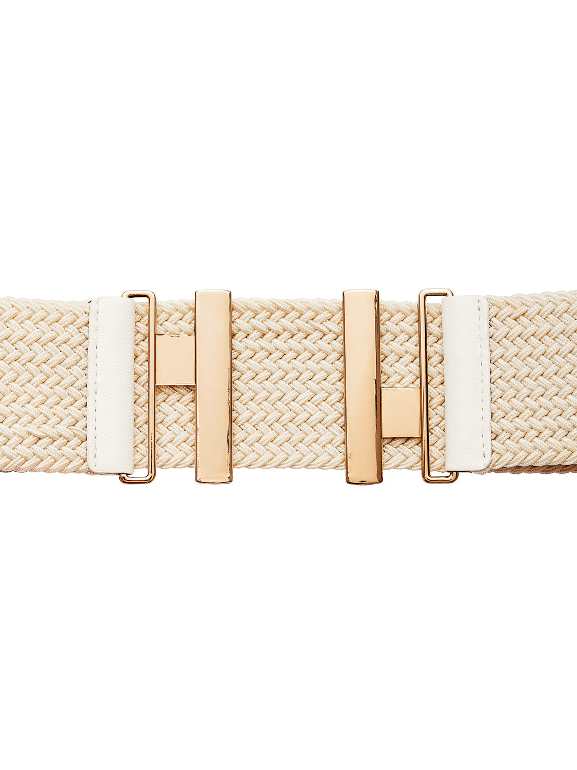 Large Woven Stretch Belt
