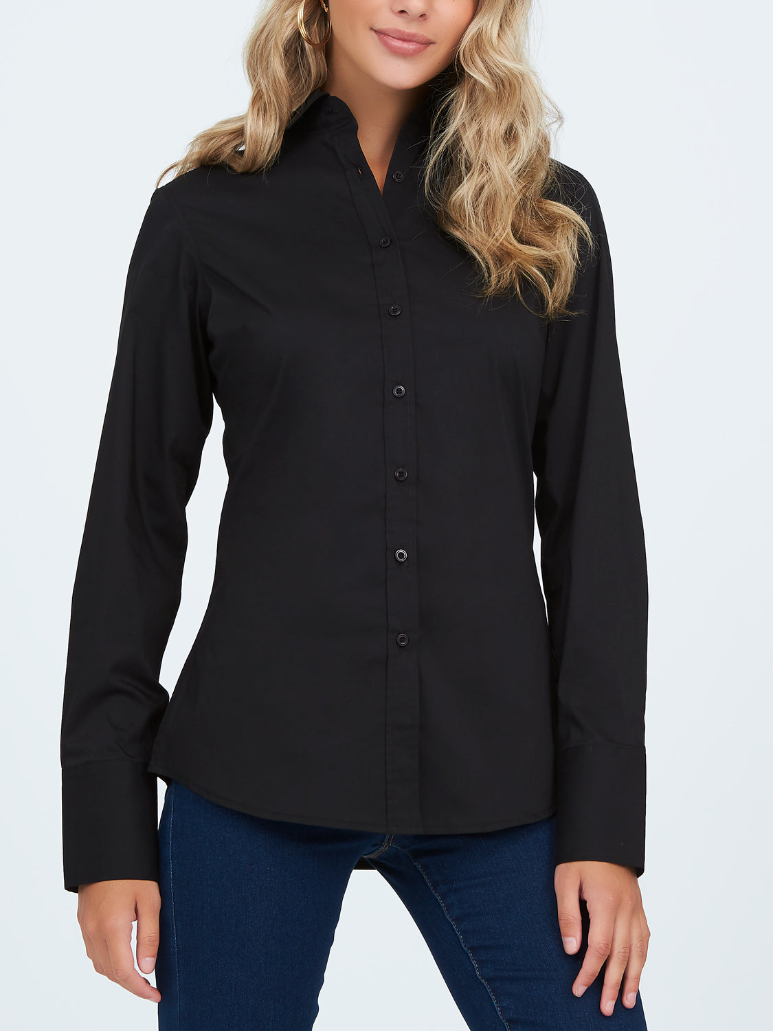 Long Sleeve Cuffed Shirt