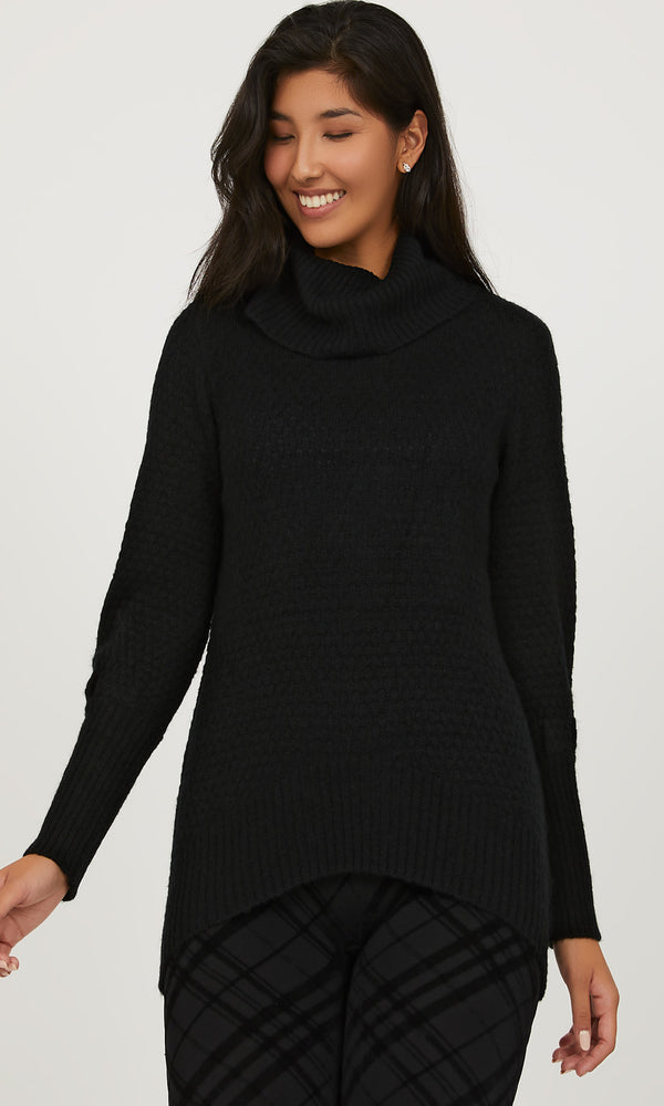 Cozy Cowl Neck Sweater