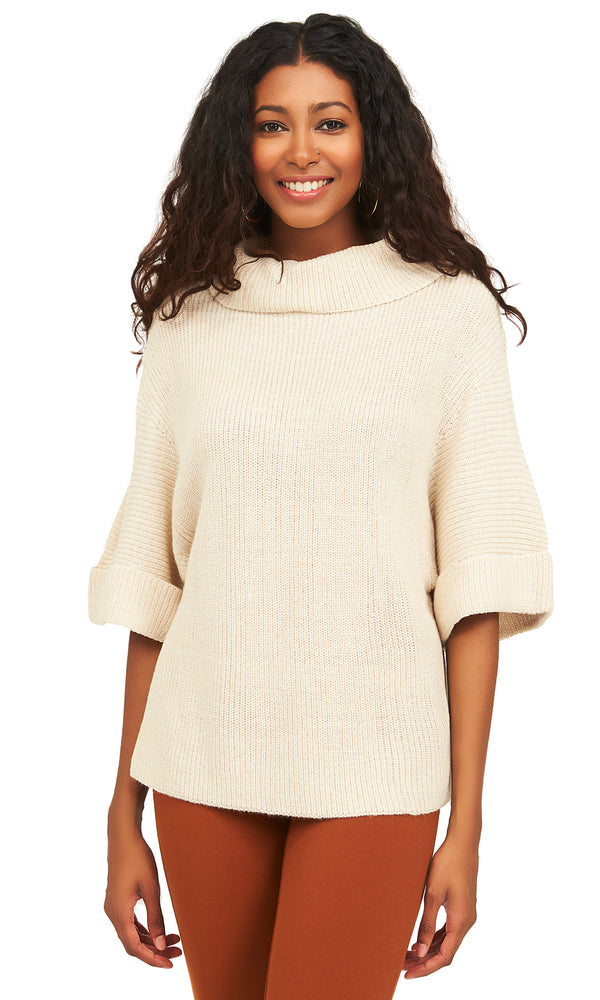 Short Sleeves Knit Sweater