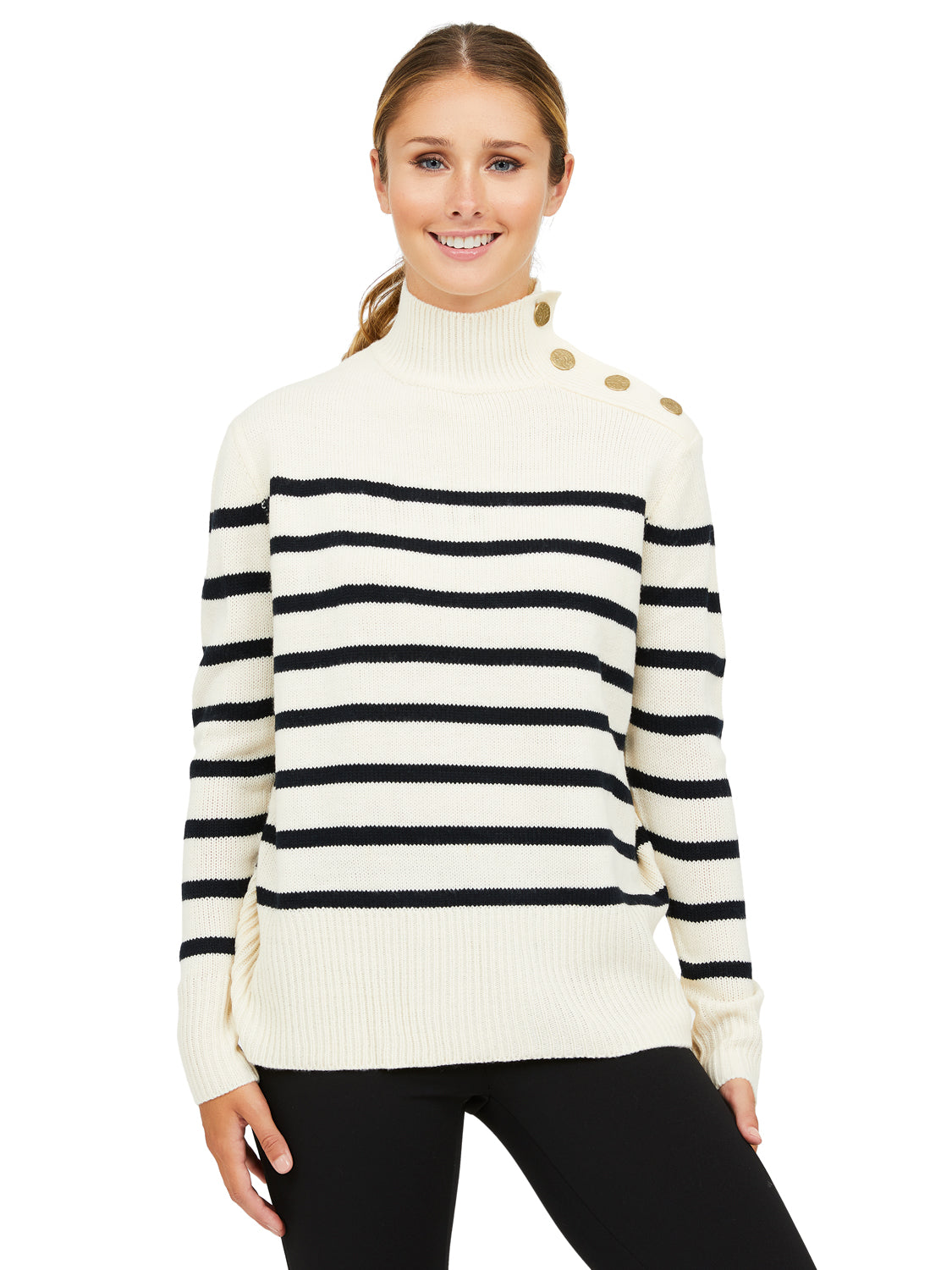 Striped Long Sleeve Sweater