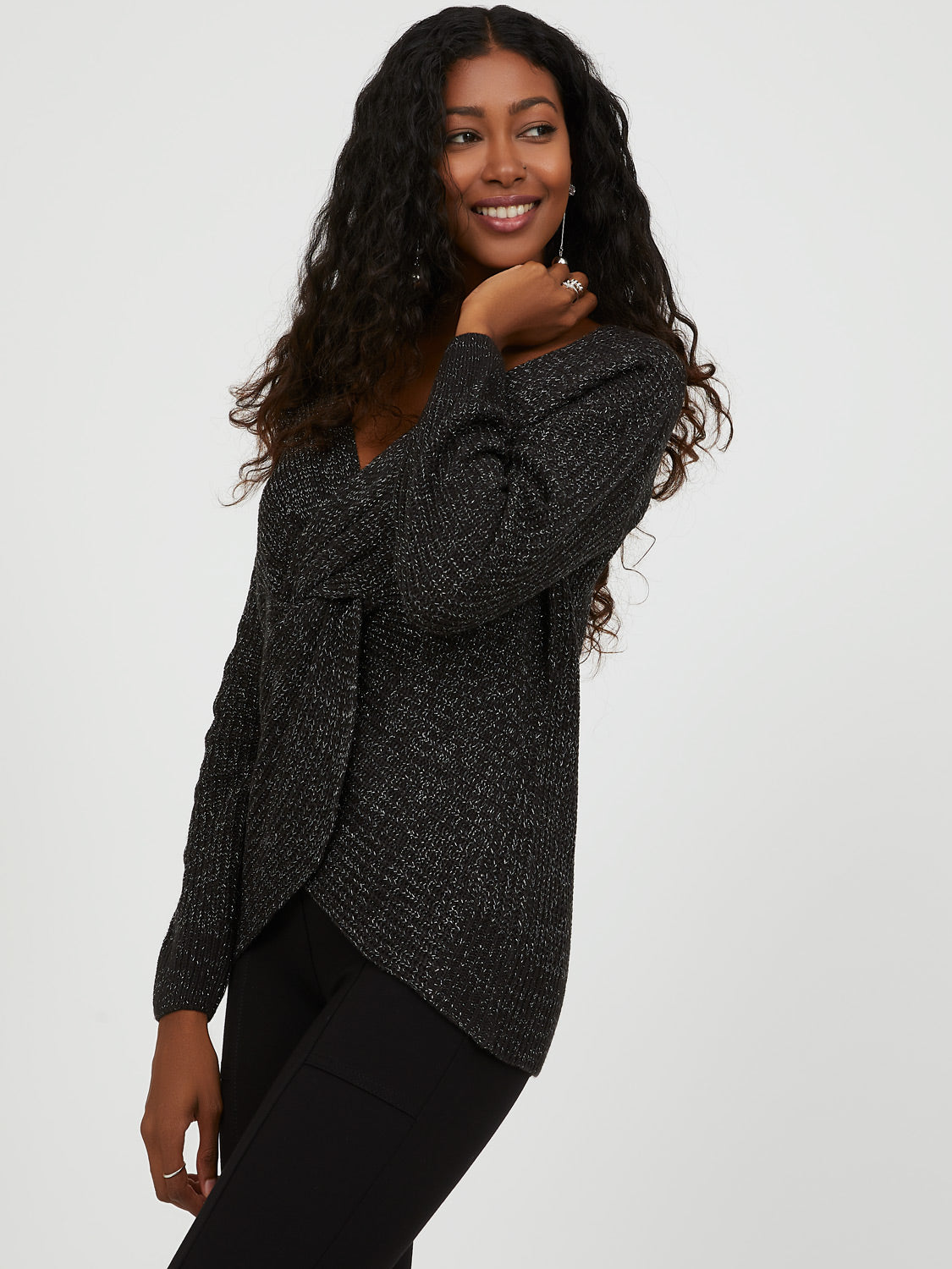 Twisted Knot Reversible Sweater